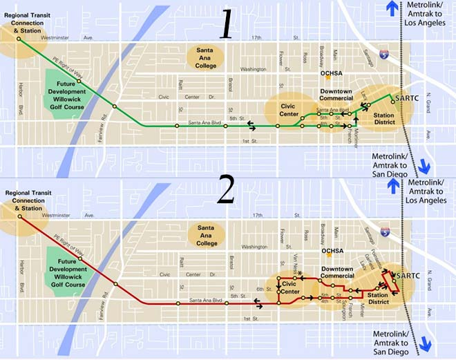 Santa Ana Fixed Guideway Project on map of downtown fremont, map of downtown california, map of downtown summerlin, map of sw bakersfield ca, map of downtown oakland ca, map of downtown el segundo, map of downtown oceanside, map of downtown del mar, map of downtown las vegas strip, map of downtown cabo san lucas, map of downtown san luis obispo, map of downtown cambria ca, map of downtown seaside, map of eastside, map of santa ana ca, map of santa ana winds, map of santa ana college, map of downtown san clemente, map of downtown florida, map of downtown san juan capistrano,